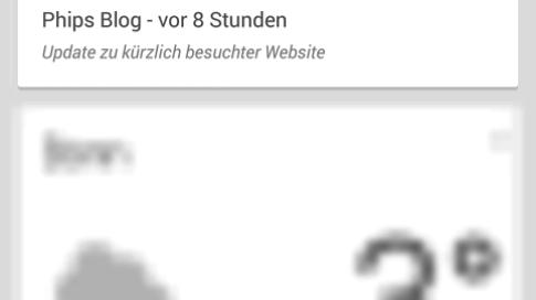 Google Now Screenshot