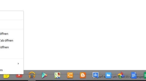 Definierbare Eigenschaften für Chrome(OS)-Apps