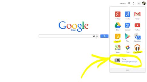 Google Bar: Noch weiter individualisierbar!