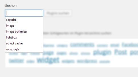 Chrome Formular-Input Vorschläge