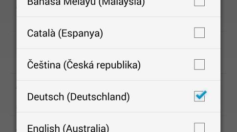 Google Now: Mehrere Eingabesprachen wählbar