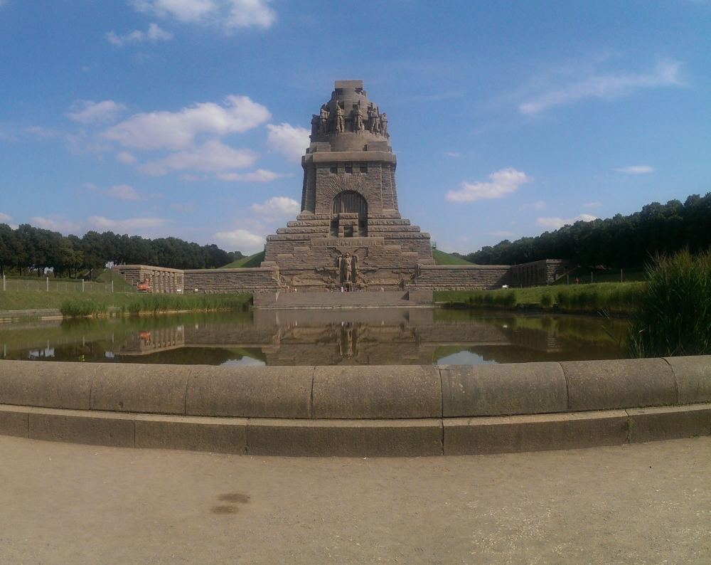 Völkerschlachtdenkmal in Leipzig