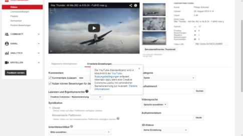 YouTube: Lizenzen für Videos