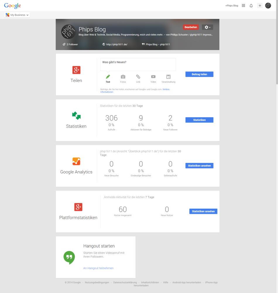 Google My Business-Web