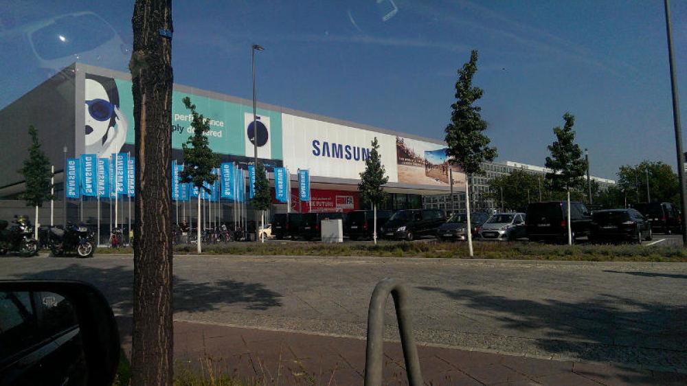 IFA Berlin 2014: Samsung-Halle