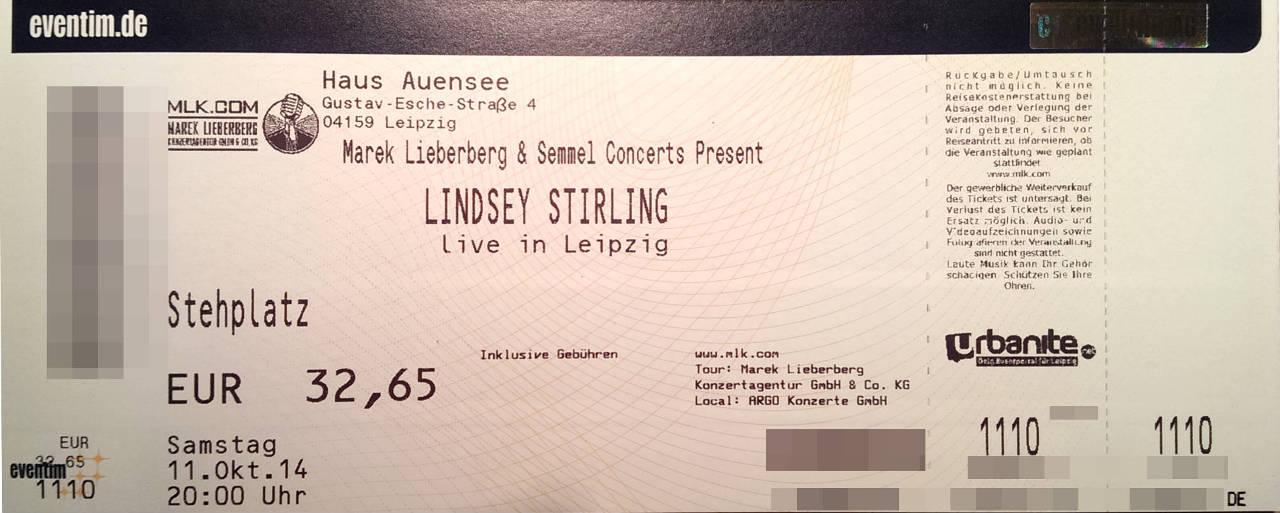 Lindsey Stirling Konzert