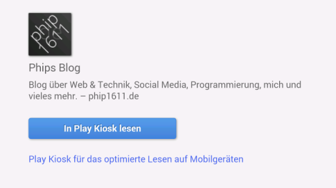 phip1611.de bei Google Play Kiosk