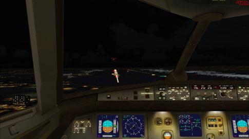 Flight Simulator X Landeanflug auf Frankfurt