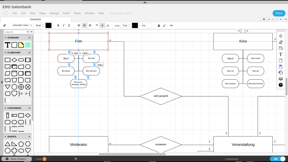 Lucidchart Screenshot