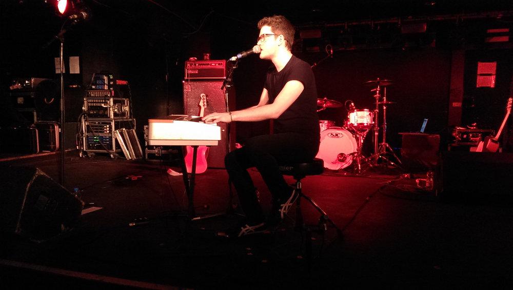 Alex Goot Konzert Köln 2015 (Alex auf Bühne)