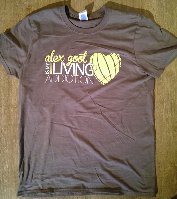 Alex Goot Konzert Köln 2015 (Alex is my Living Addiction T-Shirt)