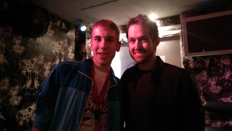 Alex Goot Konzert Köln 2015 (Foto mit Luke Conard)