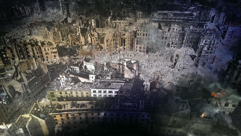 Panometer Dresden 1945