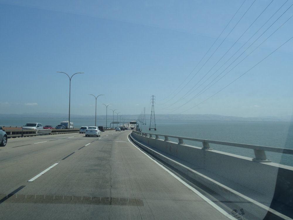 San Meteo Brücke in der Bay Area
