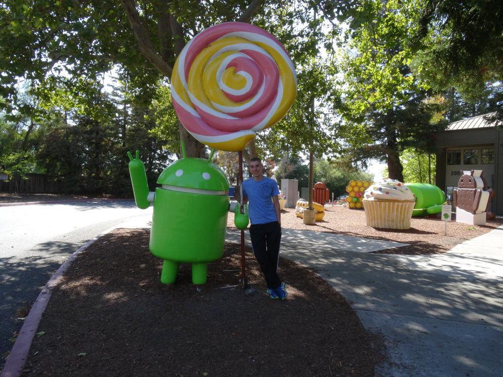 Android-Statuen