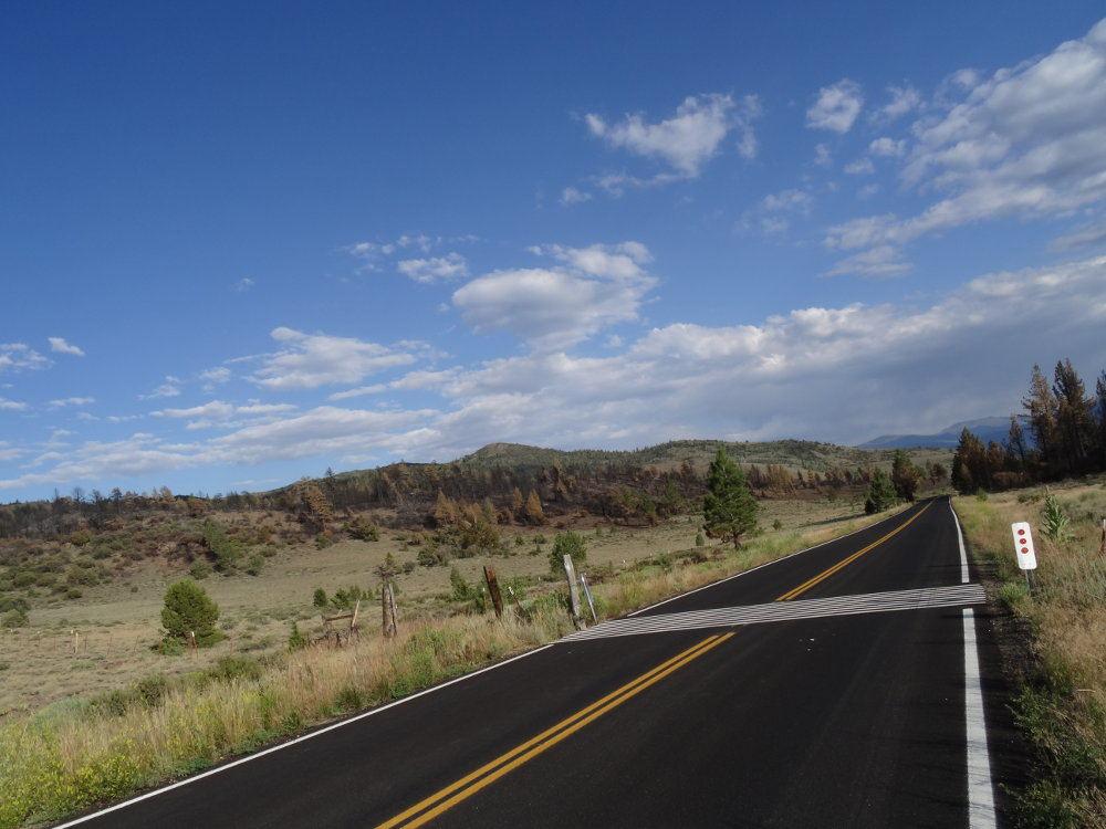 Auf dem Weg vom Yosemite Nationalpark zum Lake Tahoe