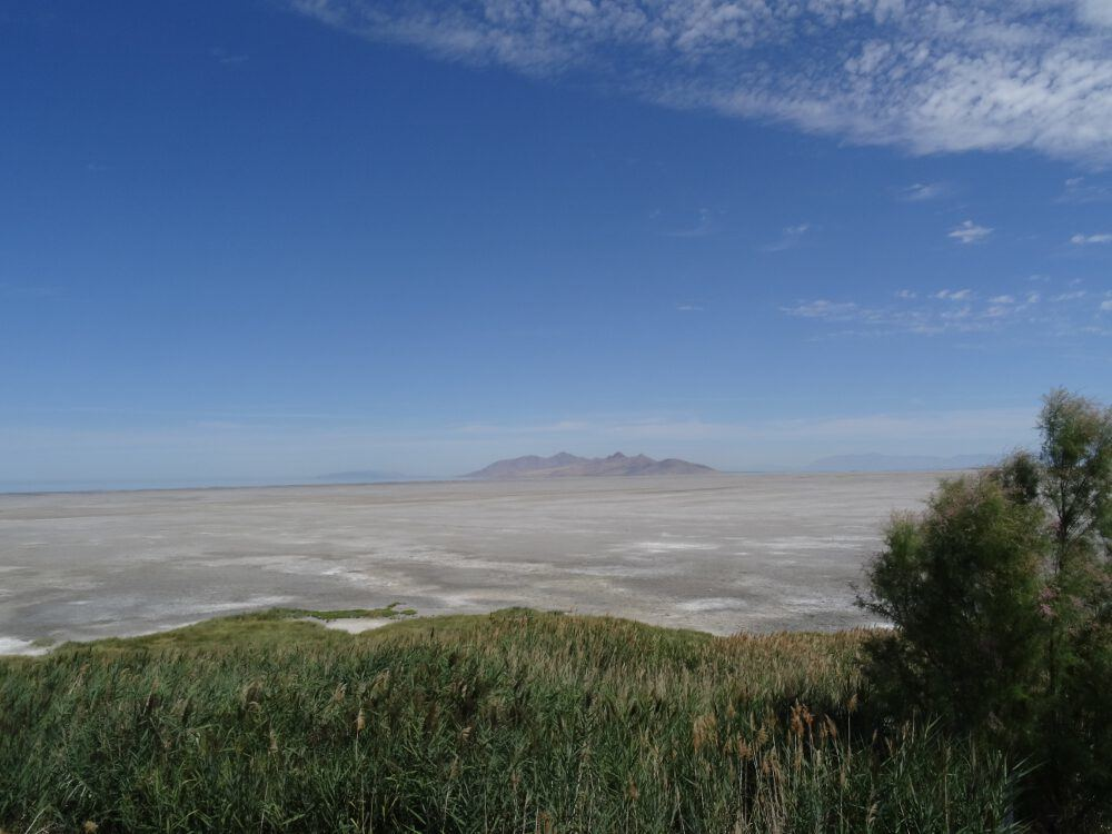 Great Salt Lake (hinten links im Bild)