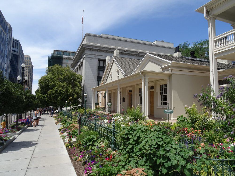 Mormonengebiet - Salt Lake City, Innenstadt