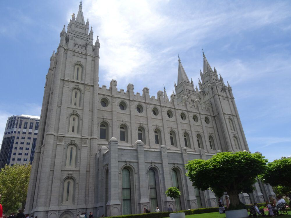 Mormonentempel - Salt Lake City, Innenstadt