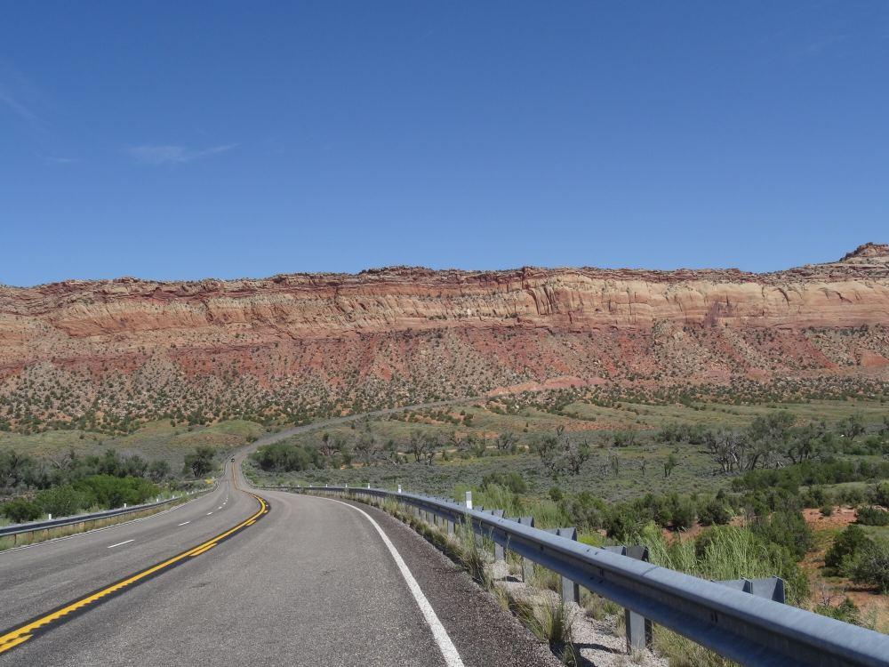 Auf dem Weg zurück nach Bluff um von dort dann zu Monument Valley zu fahren.
