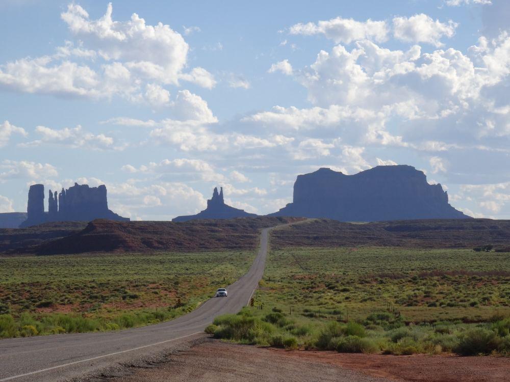 Auf dem Weg zu Monument Valley