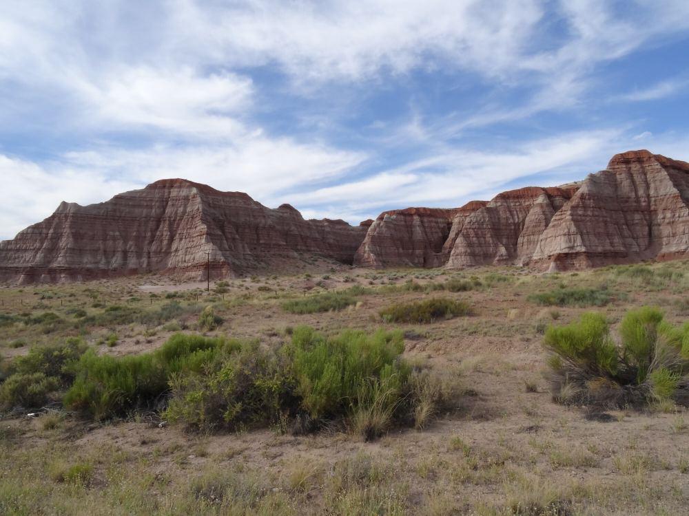 Auf dem Weg zum Bryce Canyon (Richtung Norden im Süden Utahs)
