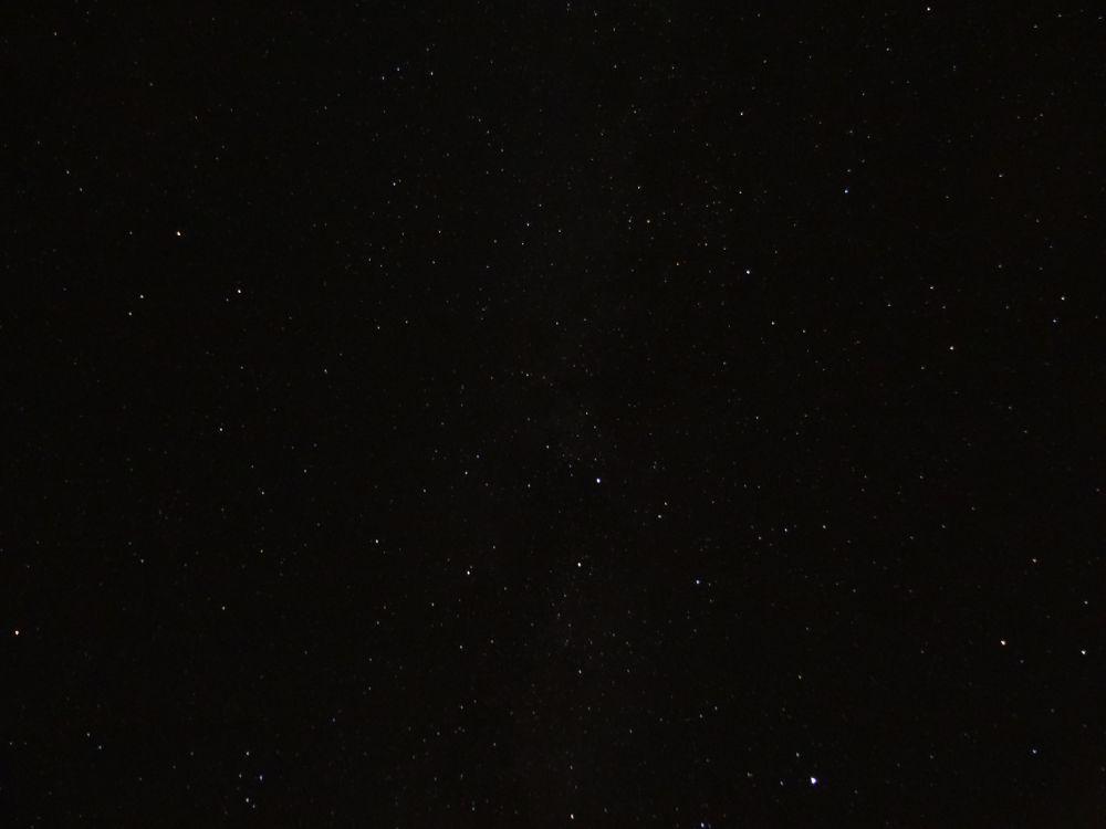 Sternenhimmel über dem Erzgebirge am 15.09.2015 - ISO: 800, Belichtungszeit: 30s, Blende: F/3,5, Kamera: Sony DSC-HX50V