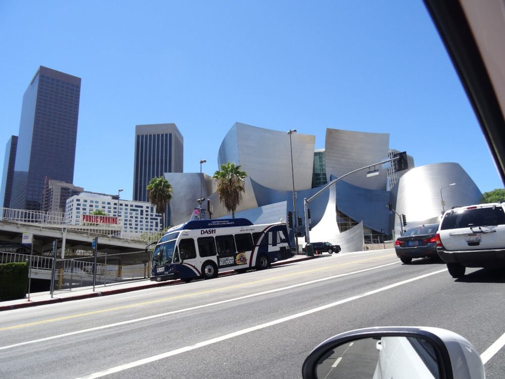Walt Disney Concert Hall in Los Angeles (12.08.2015)