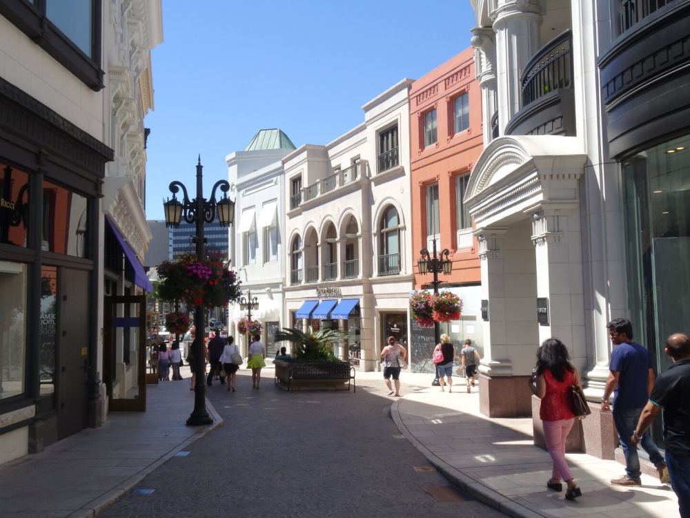 Rodeo Drive, Los Angeles (12.08.2015)