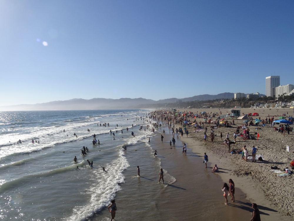 Santa Monica, Los Angeles (12.08.2015)