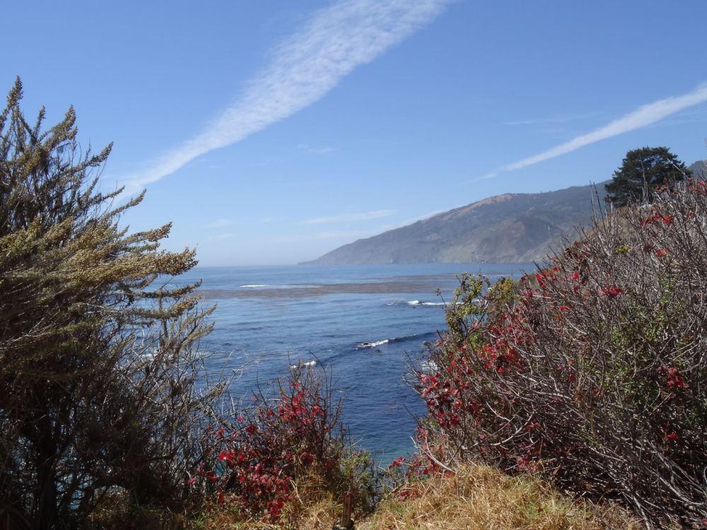 Kalifornische Pazifikküste am 15.08.2015