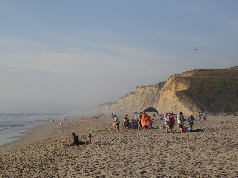 Kalifornische Pazifikküste am 16.08.2015