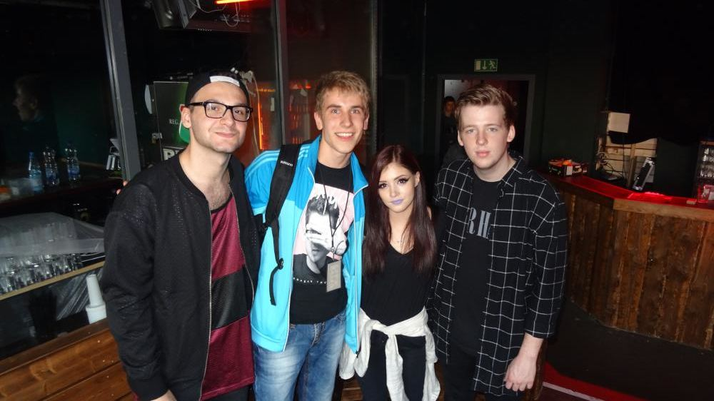 Against The Current in Berlin: Meet'n'Greet