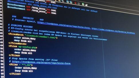 htaccess-Code (Symbolbild)