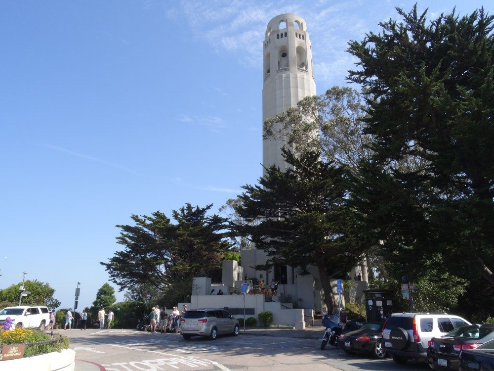 Coit-Tower am 17. August 2015