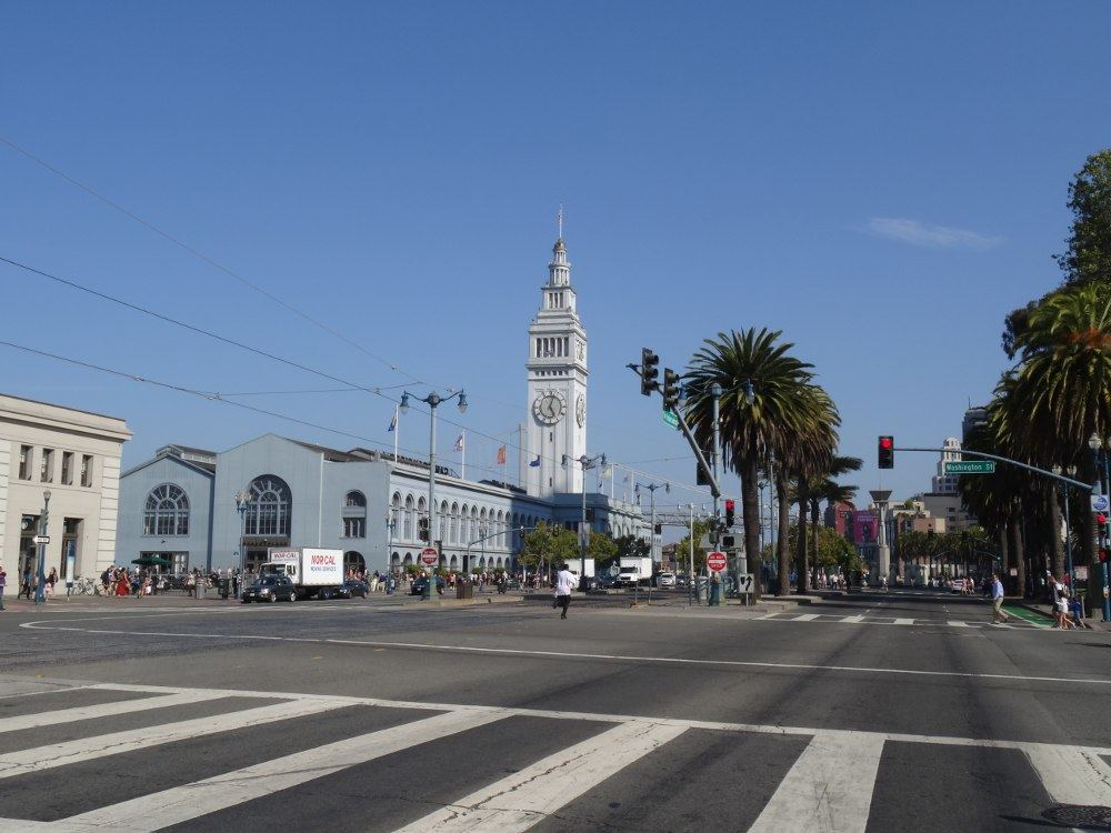 San Francisco am 17. August 2015