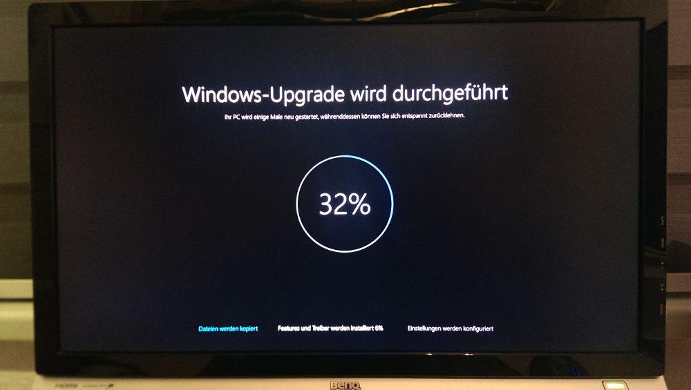 Windows 10: Upgrade