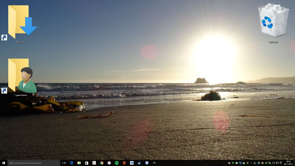 Windows 10: Desktop