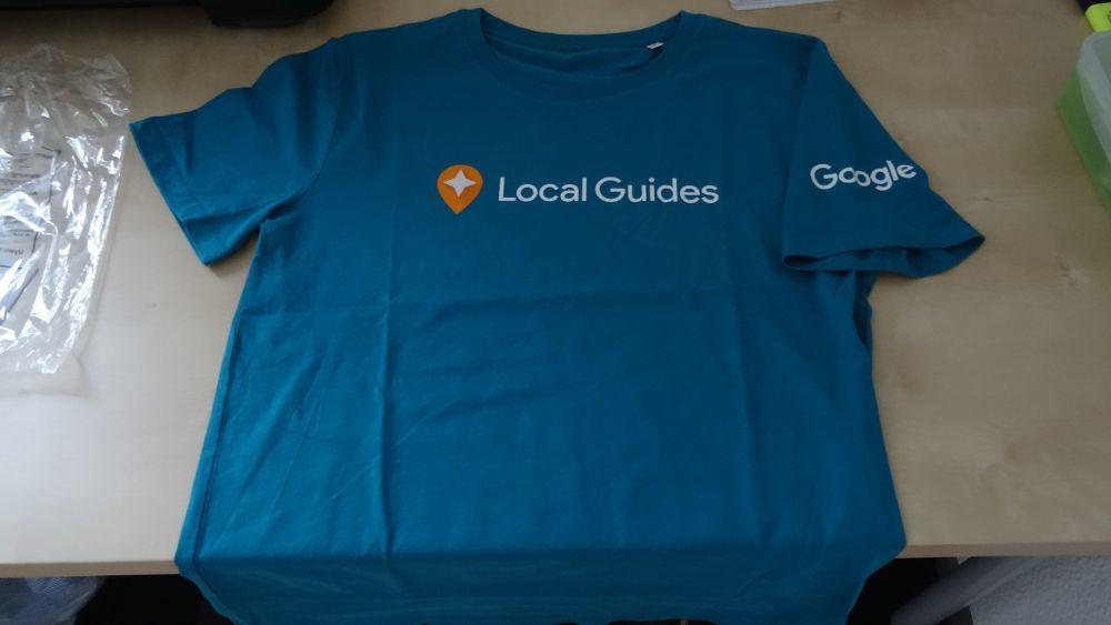 Google Local Guides T-Shirt (Januar 2016)