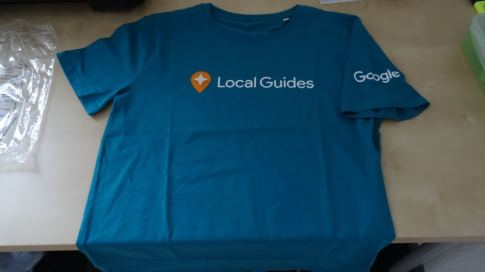 Google Local Guides T-Shirt (Januar 2016)