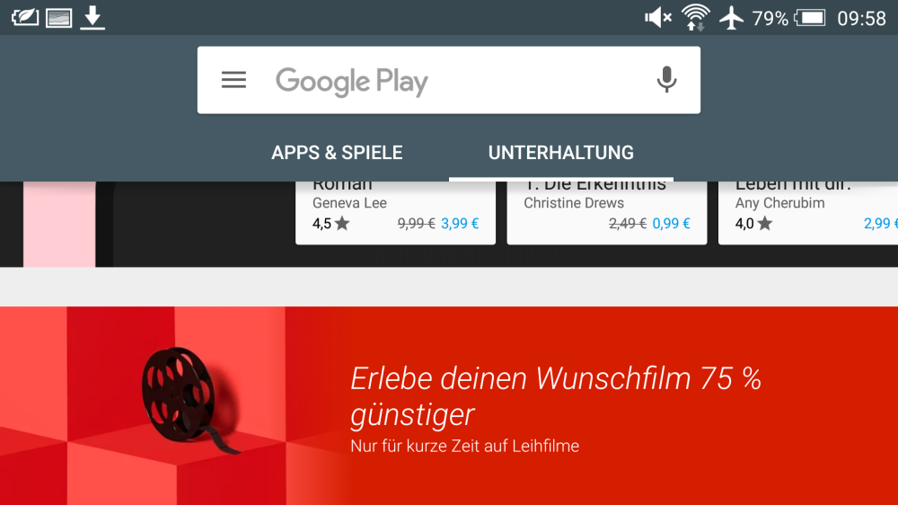 Google Play Gutschein: Screenshot 2016-01-22