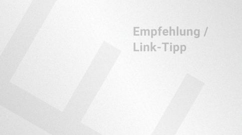 Artikelvorschaubild Empfehlung/Linktipp
