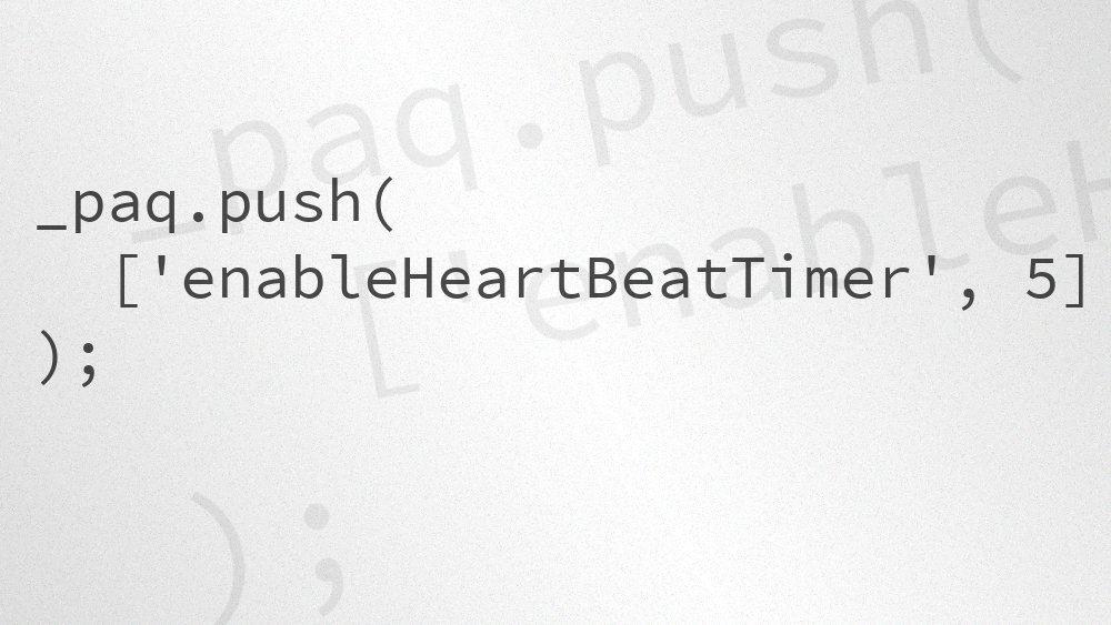 Artikelvorschaubild: Piwik: Enable Heartbeat-Timer