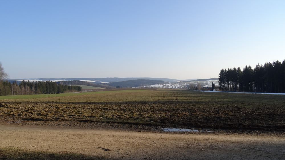 Landschaftsfoto (4K, 2160p, 16:9, Querformat, 27.02.2015, Erzgebirge)