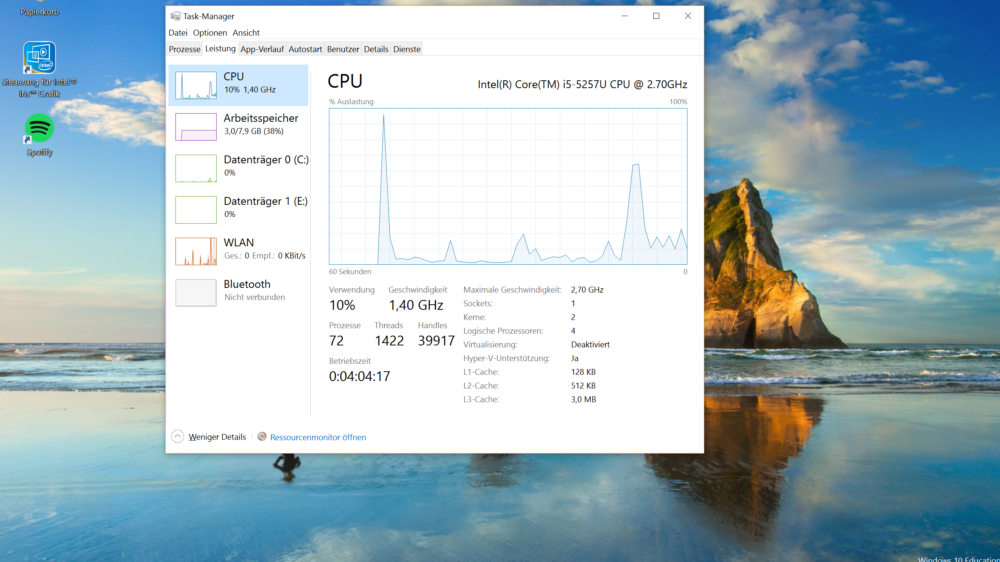 Windows 10 auf Macbook Pro (Symbollbild)