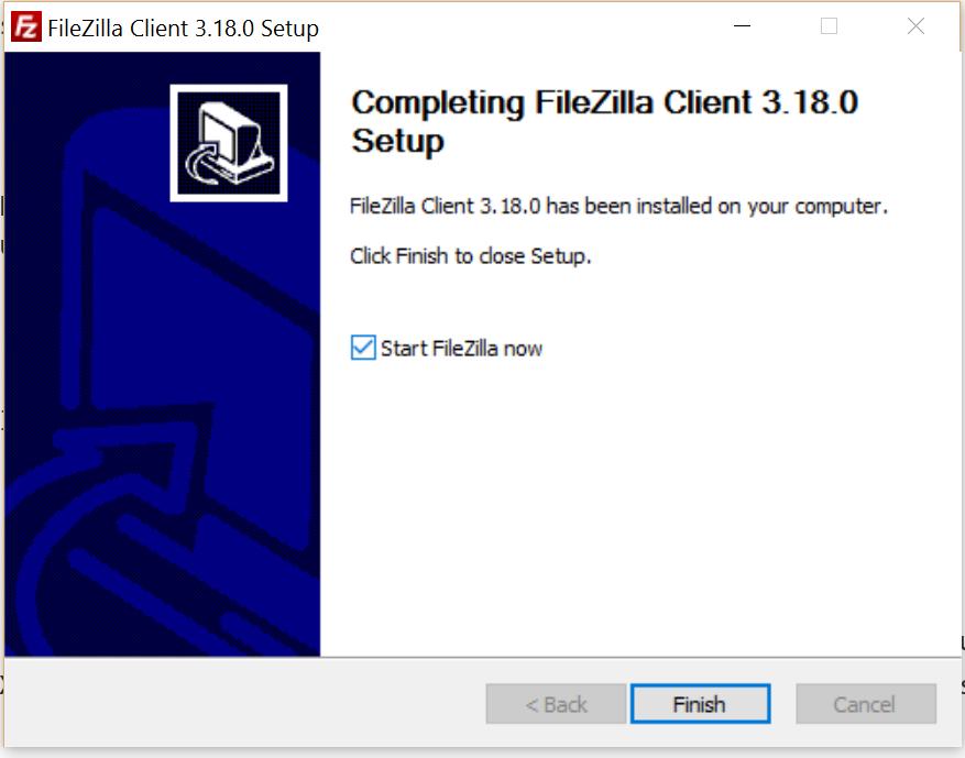 Unscharfer Installationsassistent auf Windows