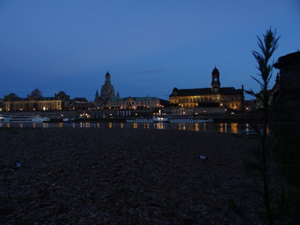 Dresden am Abend (10. Juni 2016)
