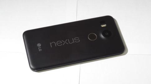 Google Nexus 5X Rückseite