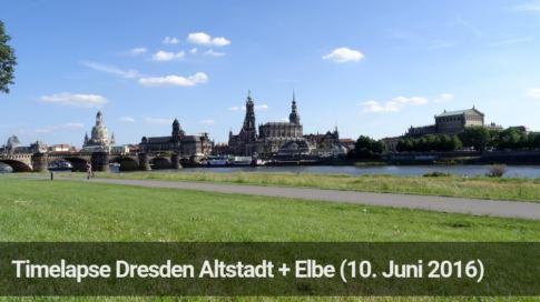 Vorschaubild Timelapse Dresden