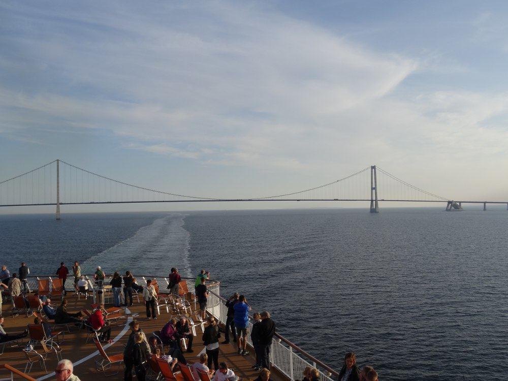 Großer-Belt-Brücke in Dänemark